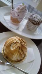 華彩なな 公式ブログ/カフェでまったり♪ 画像2