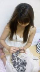 華彩なな 公式ブログ/編み編み・・・ 画像1