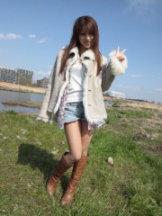 華彩なな 公式ブログ/多摩川〜バーベキュー♪ 画像1