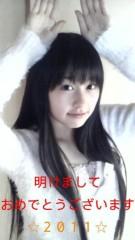 佐々木彩夏(ももいろクローバー) 公式ブログ/☆2011年です。あーりんです。☆ 画像1