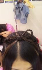 河島樹莉(usa☆usa少女倶楽部) 公式ブログ/Hair( ̄∀ ̄)w 画像2