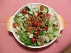 イリア 公式ブログ/今夜のサラダ 画像1