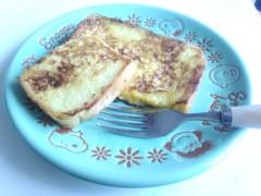 蜂谷由貴 公式ブログ/トースト 画像1