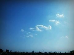 蜂谷由貴 公式ブログ/雲一つ 画像1