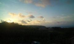 さとうゆみ 公式ブログ/宮古島の朝 画像1