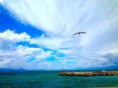 菱沼美波 公式ブログ/雲 画像2