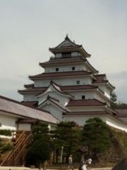 菱沼美波 プライベート画像 鶴ヶ城