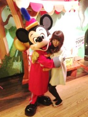 秋山那留実 公式ブログ/ディズニー行って来ました☆ 画像1