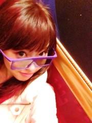 秋山那留実 プライベート画像 3Dメガネ