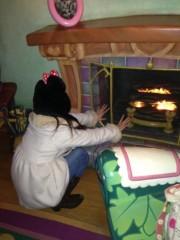 秋山那留実 公式ブログ/暖をとる。の巻 画像1