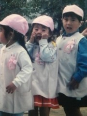 秋山那留実 公式ブログ/小さい頃のなる 画像1