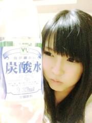 秋山那留実 公式ブログ/炭酸水の画像。笑 画像1