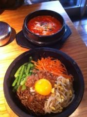 北村みなみ 公式ブログ/韓国料理☆ 画像2