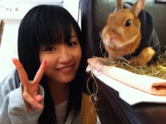 北村みなみ 公式ブログ/うさぎカフェ 画像1