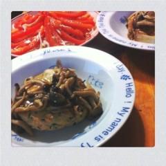 北村みなみ 公式ブログ/晩御飯☆ 画像1
