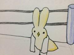関口愛美/ライブフローリスト愛眠 プライベート画像/ひよこウサギ プロレスラー気取り
