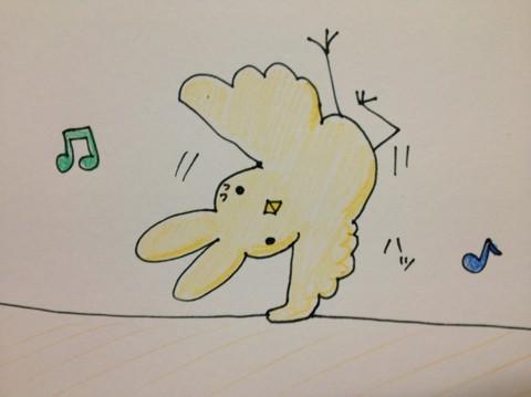 ダンサーひよこウサギ