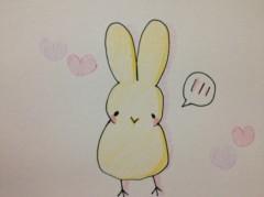 関口愛美/ライブフローリスト愛眠 プライベート画像/ひよこウサギ てれるひよこウサギ