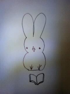 読書ひよこウサギ