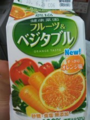 阿川祐未 公式ブログ/野菜ジュース 画像1