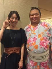 丸岡真由子 公式ブログ/大相撲も撮影も無事おわり。。どす 画像1