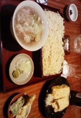 快信孝(チックタックブーン) 公式ブログ/ソバでもつけ麺 画像1