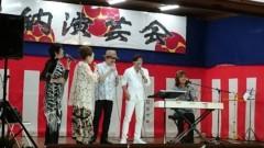あいざき進也 公式ブログ/お祭りのステージ 画像1