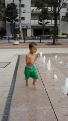 甘糟記子 公式ブログ/水遊び 画像1