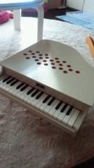 甘糟記子 公式ブログ/ミニピアノ白 画像1