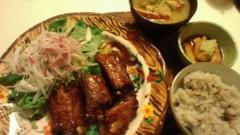 甘糟記子 公式ブログ/夕飯大人たち 画像1