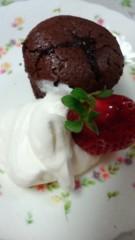 甘糟記子 公式ブログ/チョコケーキ 画像1