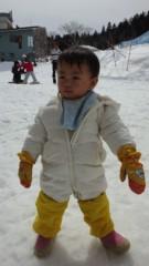 甘糟記子 公式ブログ/初スキー 画像1