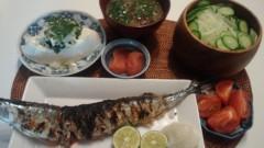 甘糟記子 公式ブログ/夕飯(旦那様) 画像1