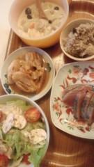 甘糟記子 公式ブログ/夕飯 画像1