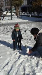 甘糟記子 公式ブログ/雪遊び 画像1