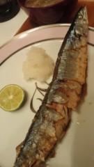 甘糟記子 公式ブログ/秋刀魚 画像1