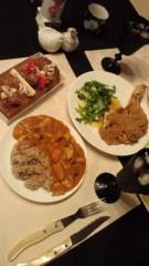 甘糟記子 公式ブログ/クリスマスディナー 画像1