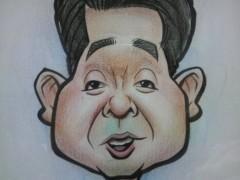 芝崎昇 公式ブログ/浅草�似顔絵 画像1