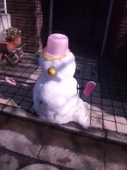 大久保鉄雄 公式ブログ/雪だるま〜。 画像1