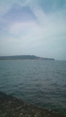 白 プライベート画像 海だ
