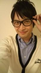 白 公式ブログ/今日からメガネっ子 画像1