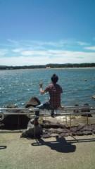 白 公式ブログ/海を見に 画像1