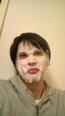 白 公式ブログ/人生初パック 画像1