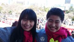 MIZUKI(ズキトモ) 公式ブログ/増上寺豆まき! 画像1