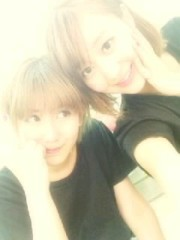 ℃-ute 公式ブログ/初日&Mion千聖 画像1