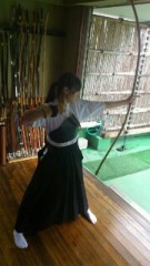 ℃-ute 公式ブログ/弓道に挑戦 画像2