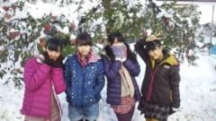 ℃-ute 公式ブログ/雪国〜ヽ( ≧▽≦)/ 画像1