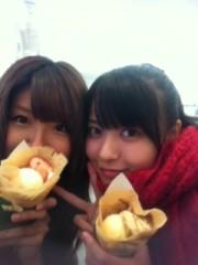 ℃-ute 公式ブログ/クレープ(^-^) お知らせ(>_< 。) 画像1