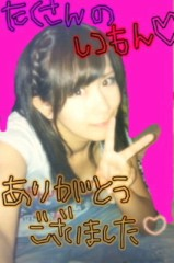 ℃-ute 公式ブログ/質問コーナーラスト☆千聖 画像1