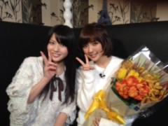℃-ute 公式ブログ/真野ちゃん卒業おめでとう 画像1